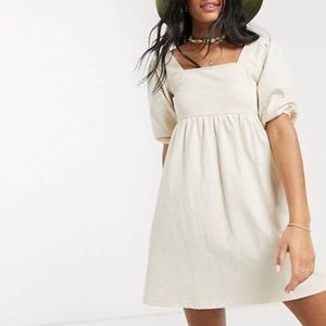 Beige ASOS dress NWT